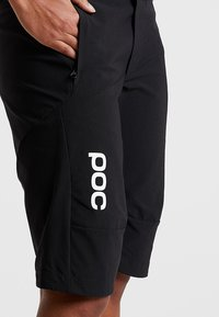 POC - ESSENTIAL SHORTS - Sports shorts - uranium black - 4
