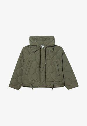 MIT KAPUZE - Light jacket - khaki