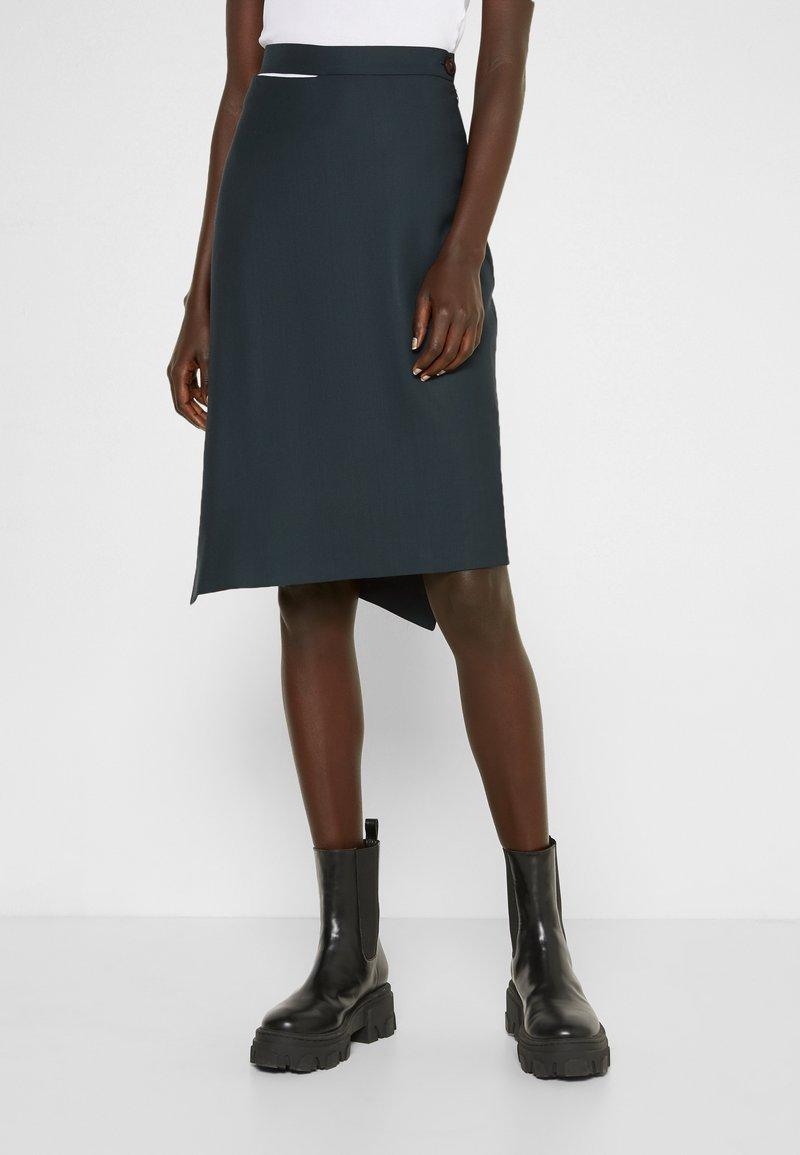 Vivienne Westwood - LOOSE INFINITY SKIRT - Pencil skirt - green