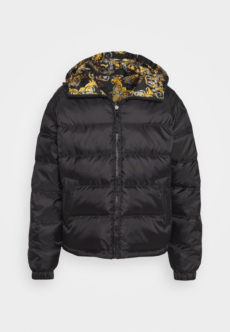 Versace Jeans Couture - RISTOP PRINTED LOGO BAROQUE - Down jacket - nero