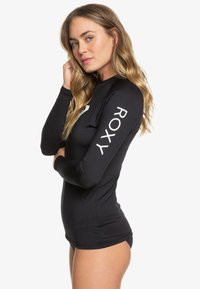 Roxy - WHOLEHEARTED - Rash vest - anthracite - 3