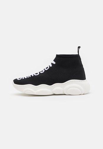 UNISEX - High-top trainers - black