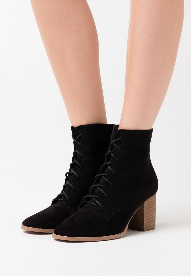 Rubi Shoes by Cotton On - MARCELLE LACE UP - Ankle boot - black