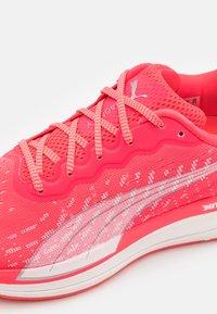 Puma - MAGNIFY NITRO - Neutral running shoes - sunblaze/white - 5