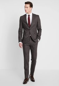 Shelby & Sons - NEWTOWN SUIT - Suit - dark brown - 1