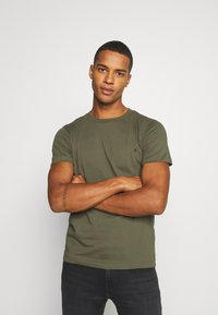 Replay - 2 PACK - T-shirt basic - olive/grey - 1