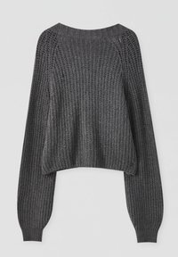 PULL&BEAR - Cardigan - mottled grey - 3