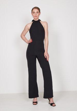 HALTER - Jumpsuit - black