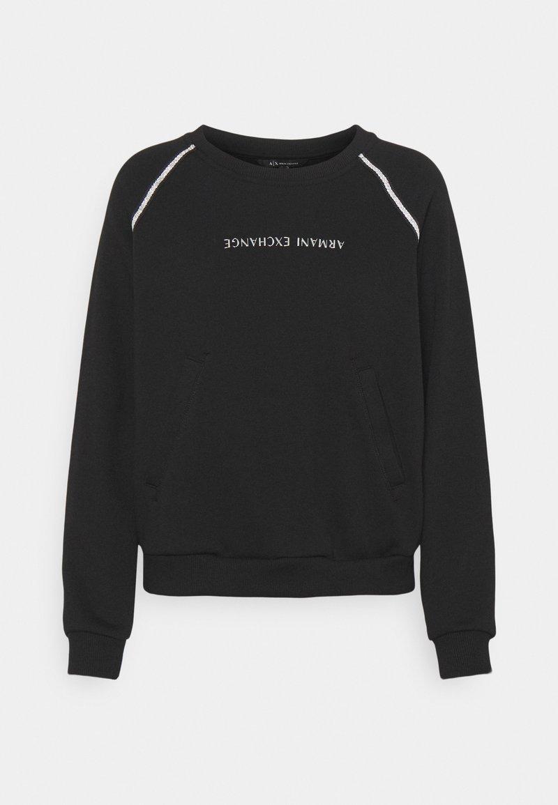 Armani Exchange - FELPA - Sweatshirt - black