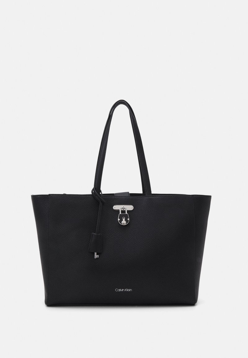 Calvin Klein - LAP SLEEVE SET - Cabas - black