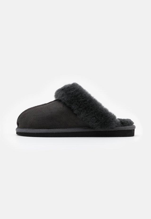 JESSICA - Pantofole - antique/asphalt