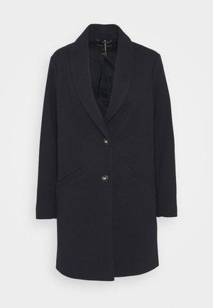 SHAWL COLLAR  - Classic coat - navy
