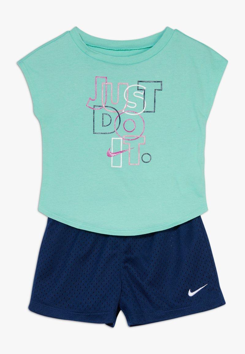Nike Sportswear - JUST DO IT SET BABY - Shorts - blue void