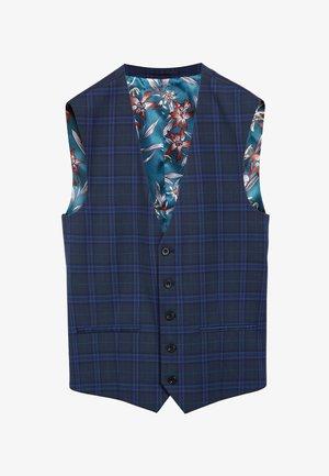 Suit waistcoat - light blue