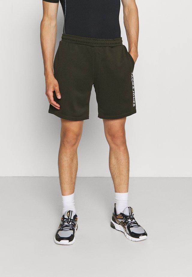 JCOZBIG LOGO SHORTS - Sports shorts - forest night