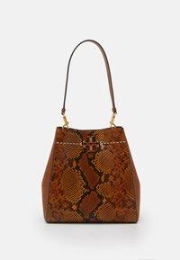 Tory Burch - MCGRAW EXOTIC - Handbag - dark caramel - 0