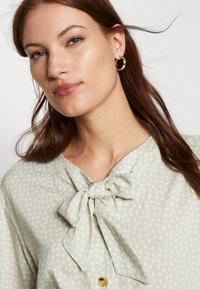esmé studios - BARBARA DRESS - Shirt dress - green tint - 4