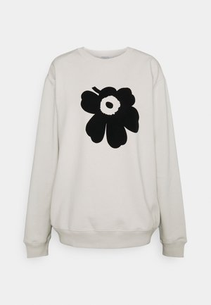 KIOSKI JUOMU UNIKKO PLACEMENT  - Sweatshirt - light beige/black