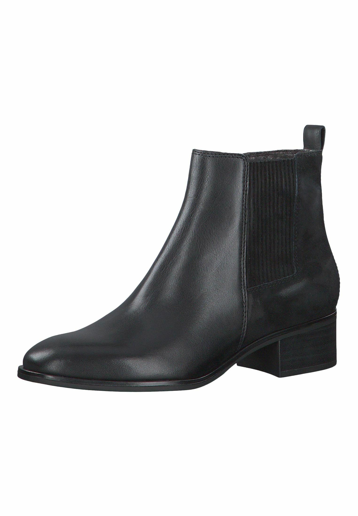 S.oliver Chelsea Boot - Boots À Talons Black Comb