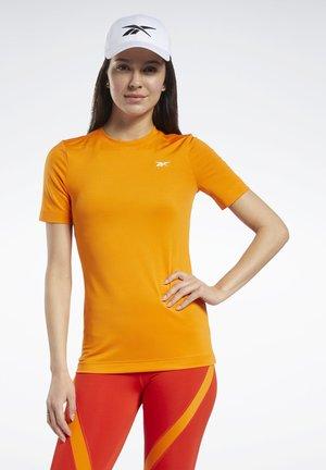 WORKOUT READY SUPREMIUM TEE - T-Shirt basic - orange