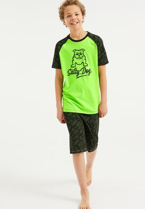 SET - Pyjama set - bright green