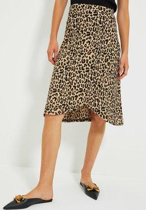 PARENT - A-line skirt - brown