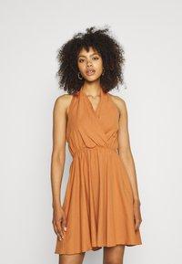 Trendyol - LACIVERT - Day dress - camel - 0
