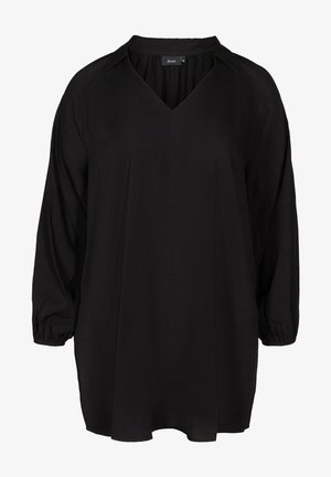 LONG-SLEEVED - Tunic - black
