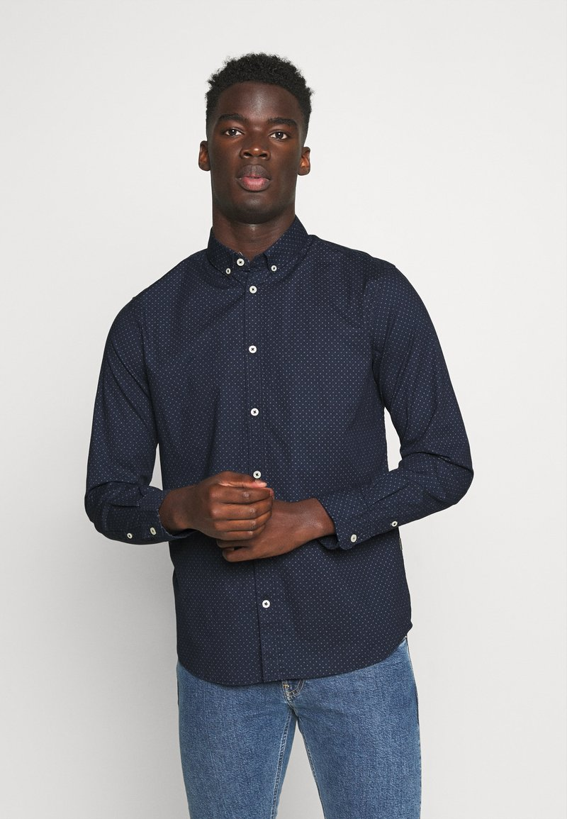 TOM TAILOR - Shirt - navy blue