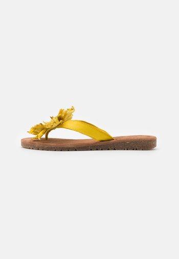 T-bar sandals - yellow