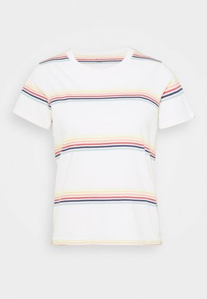 NORTHSIDE VINTAGE TEE SUMMERVILLE - Print T-shirt - pearl ivory/ombre