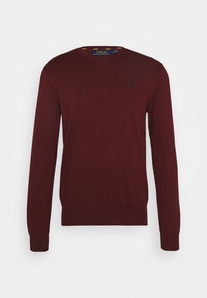 LONG SLEEVE - Strickpullover - classic wine heather