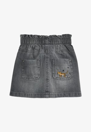 Denim skirt - grey denim