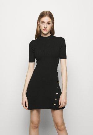 ROSEA - Strikket kjole - noir