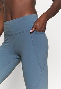 Sweaty Betty - POWER WORKOUT 7/8 LEGGINGS - Leggings - steel blue - 3
