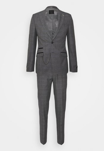 STACKSTEAD SUIT SET - Kostym - charcoal