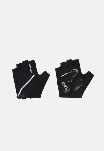 CELAL BIKE GLOVE - Kurzfingerhandschuh - black
