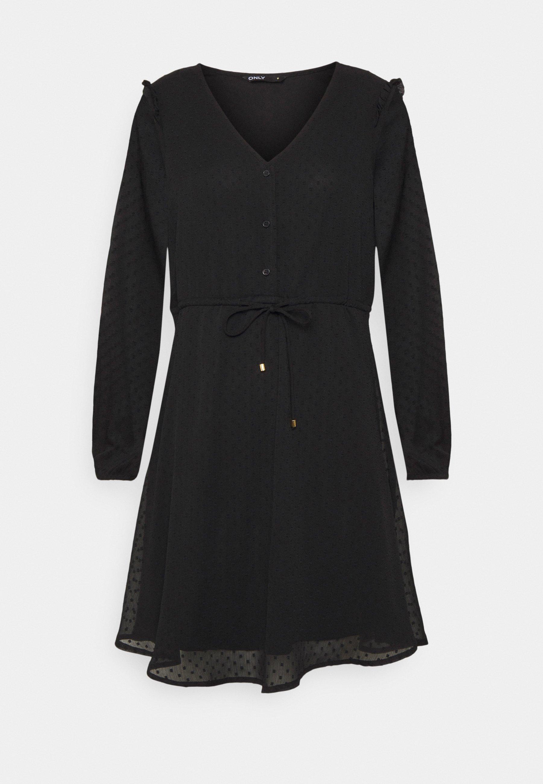Women ONLORCHID BUTTON DRESS  - Day dress