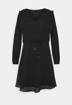 ONLORCHID BUTTON DRESS  - Day dress - black