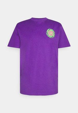 UNISEX NO BALLS NO GLORY - T-shirt imprimé - purple