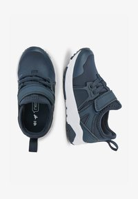 Next - NAVY ELASTIC LACE TRAINERS (OLDER) - Trainers - blue - 1