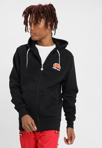 Ellesse - MILETTO - Zip-up hoodie - anthracite - 0