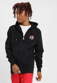 Ellesse - MILETTO - Zip-up hoodie - anthracite - 0