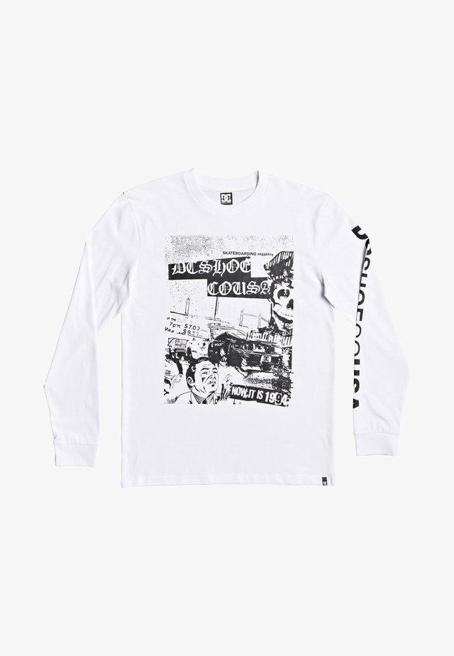 PIONEER SKY - T-shirt à manches longues - white