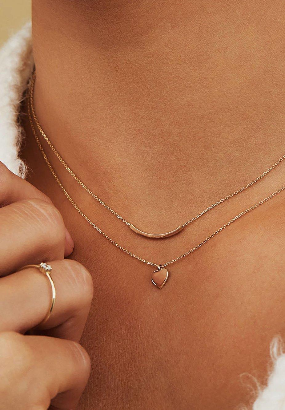 Women 14 CARAT GOLD - Necklace