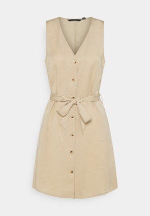VMVIVIANA  - Košilové šaty - beige