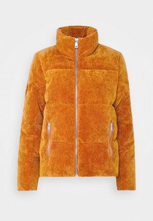 JDYNEWLEXA PADDED JACKET - Lehká bunda - leather brown