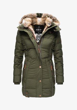 LIEBLINGS - Winter coat - olive