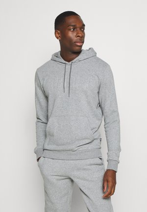MODERN BASICS HOODIE  - Sweat à capuche - medium gray heather