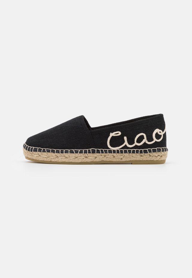 MAR  - Espadrillas - black